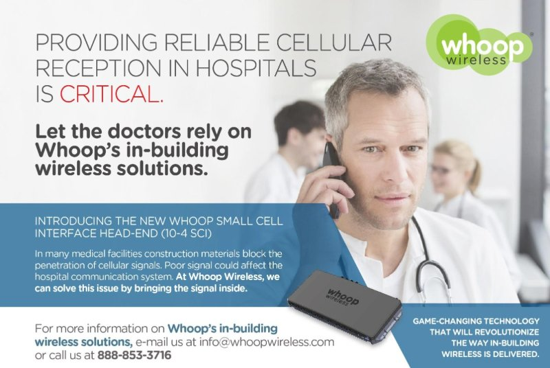 Hospital Lack of Cellular Reception is Solved!